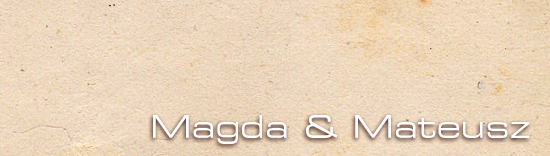 Magda i Mateusz galeria zdjęć ślubnych